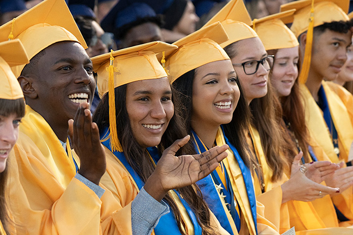 Millikan Grads at Commencement