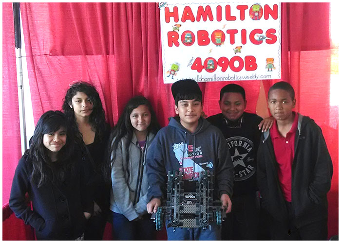 Photo - Hamilton Robotics Excels at State Level