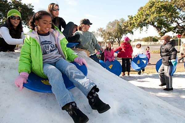 Photo - Snow Day at Prisk Elementary School