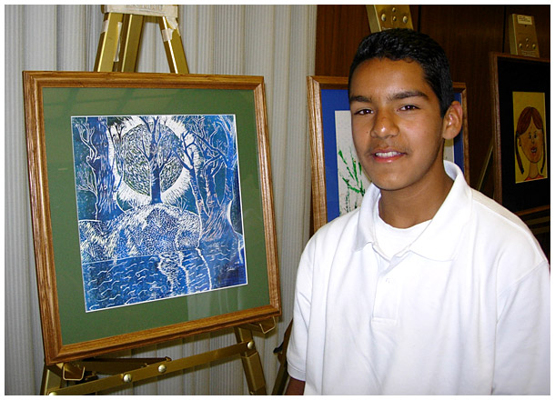 Photo - Students Place First in County Art Show