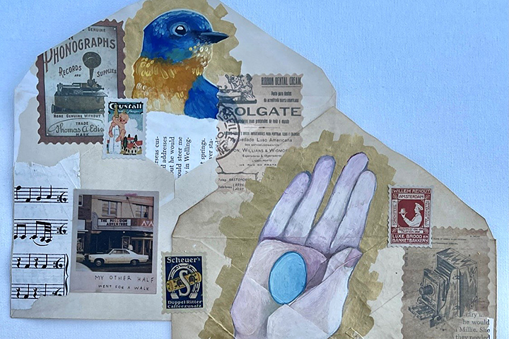 Envelope Art Created by Student