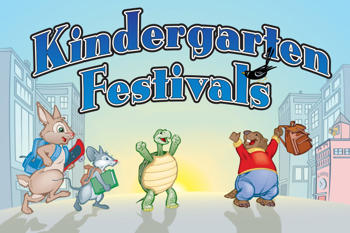 Kindergarten Fest Flier Graphic