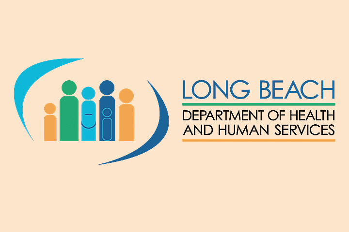 Long Beach Department of Health and Human Services logo