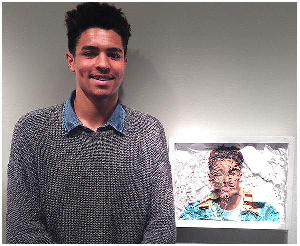 Photo - Students Exhibit Artwork at Museum