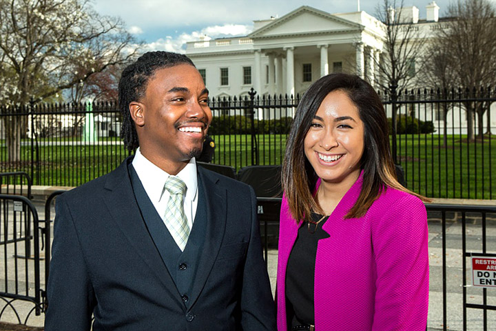 Photo - Alums Advocate at White House