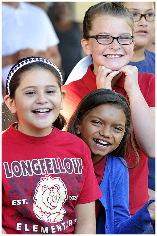 Photo - Longfellow Earns National PTA Honor