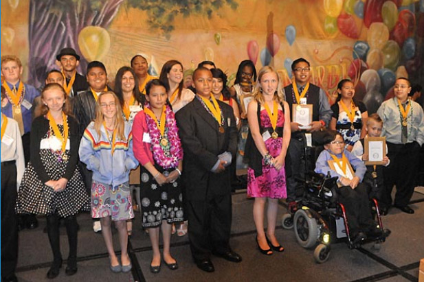 Photo - Most Inspiring Students Honored