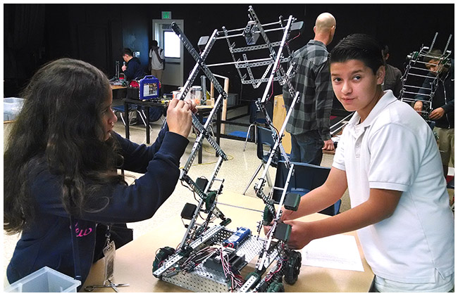 Photo - Hamilton Students Win Robotics Contest