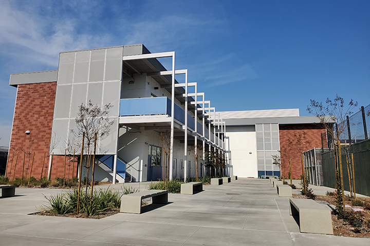 New two-story building at Millikan High School