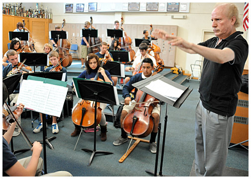 Photo - Renowned Music Conductor at Millikan