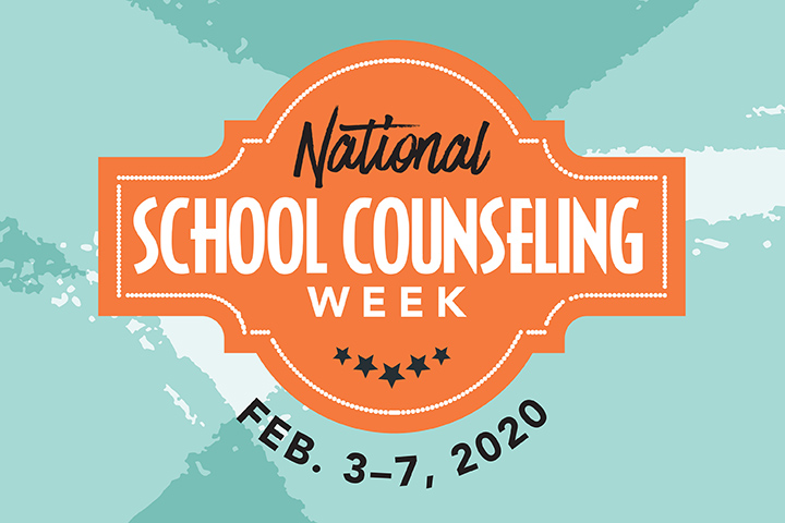 National School Counselor Week Logo