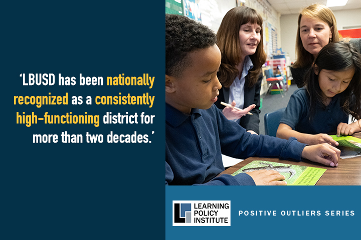 Report Cover Photo of Educators, Students in Classroom with Quote from Study
