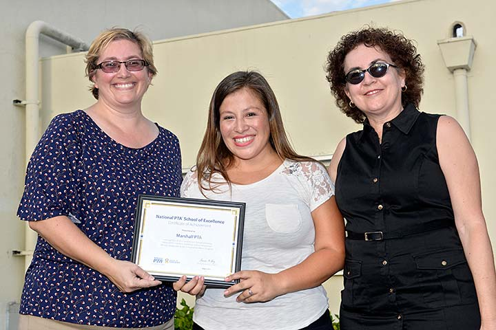 Photo - National PTA Honors Marshall Academy