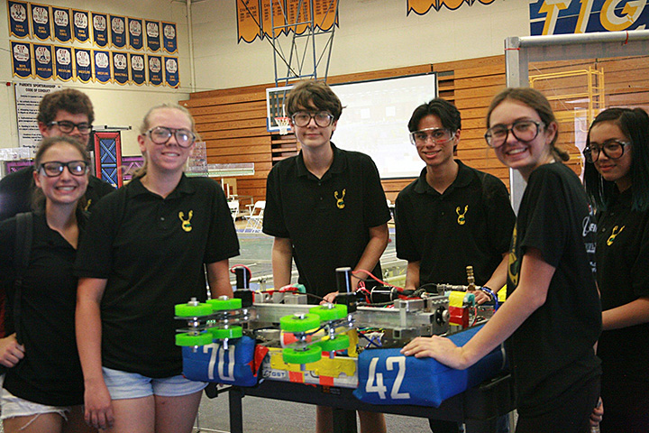 Members of the Poly Robotics Team