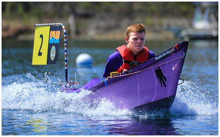 Photo - Poly High Wins Solar Boat Contest