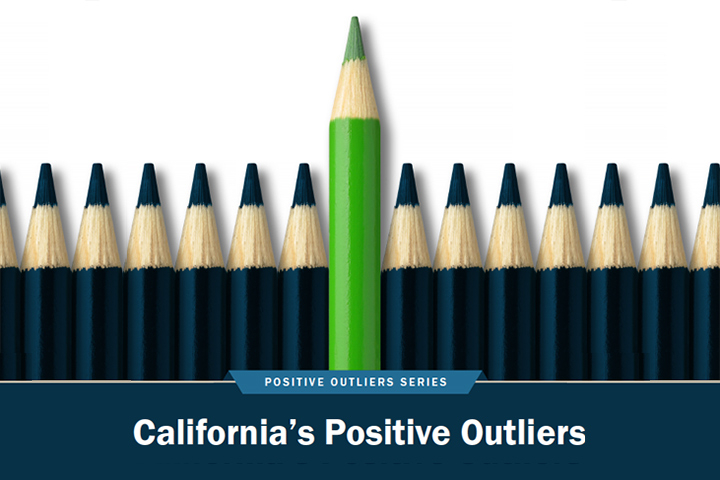 Positive Outliers Pencils Graphic from Report Cover