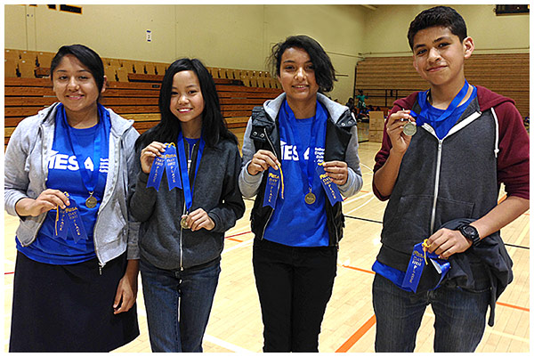 Photo - Students Compete in CSULB's MESA Day