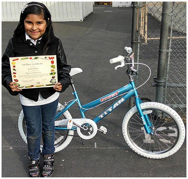 Photo - McKinley Student Wins Recipe Contest