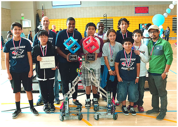Photo - Lindbergh Wins 3rd Straight RoboBowl