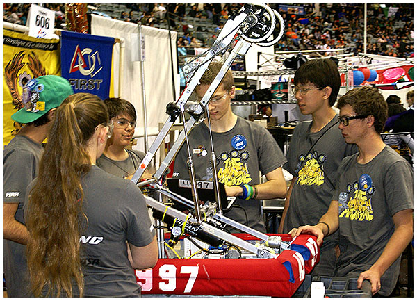 Photo - Robotics Teams Among World's Best