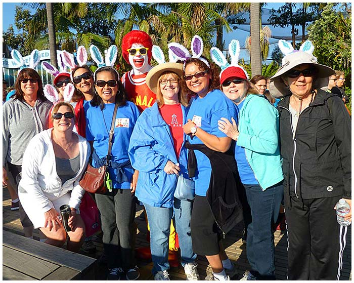 Photo - Nurses Walk for a Worthy Cause