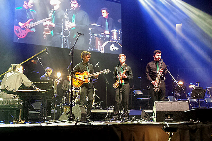 Photo - Top Honors for Poly at Reno Jazz Fest