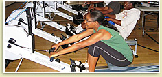 Photo - Rowing Machines Boost Fitness
