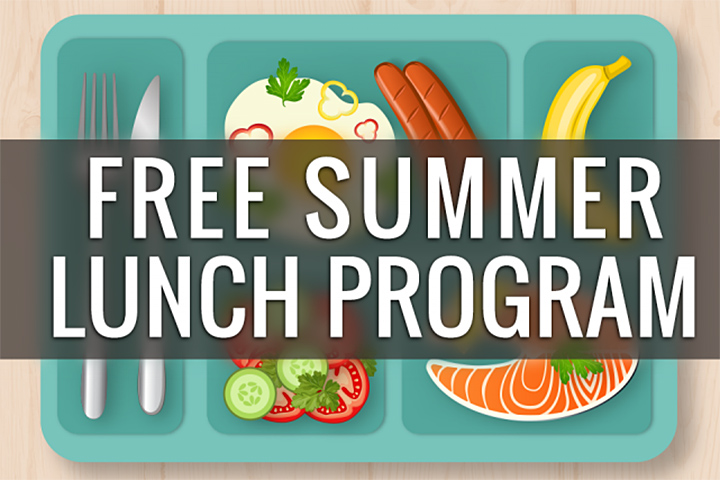 Free Summer Lunch graphic