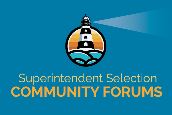 Superintendent Community Forums Logo