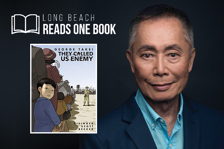 George Takei with Book Cover for