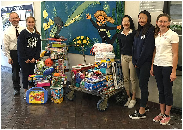 Photo - Students, Staff Donate Holiday Toys