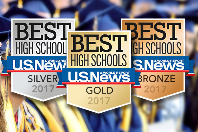 US News - Best High Schools Logo