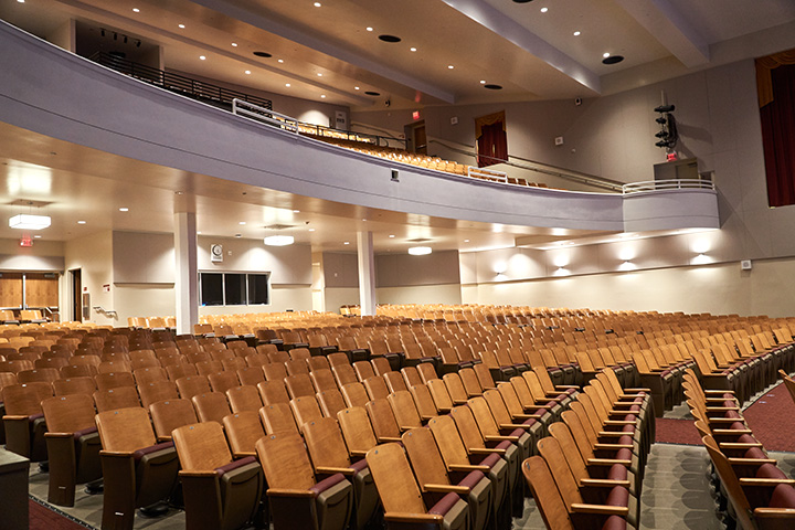 Wilson auditorium seating