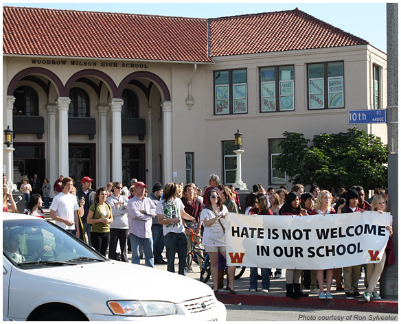 Photo - Students Speak Out Against Hatred