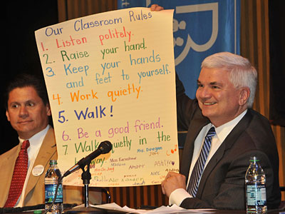Photo - Guest Principals See Schools Firsthand