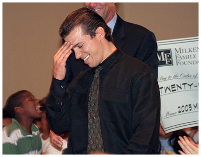 Photo - DeMille Teacher Wins National Milken Award