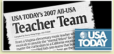 Photo - CAMS Teacher Earns USA Today Honor